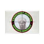 Terrorist Hunter Rectangle Magnet