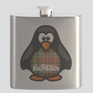 MacPherson Tartan Penguin Flask