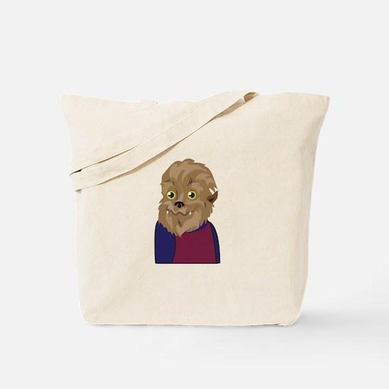 Werewolf Man Tote Bag