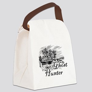 Ghost Hunter Cemetery Canvas Lunch Bag