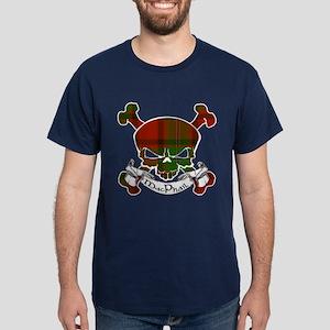 MacPhail Tartan Skull Dark T-Shirt