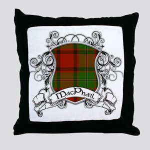 MacPhail Tartan Shield Throw Pillow