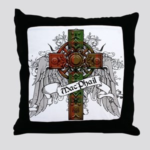 MacPhail Tartan Cross Throw Pillow
