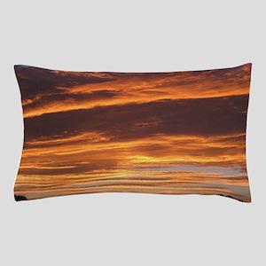 Flaming Sky Pillow Case