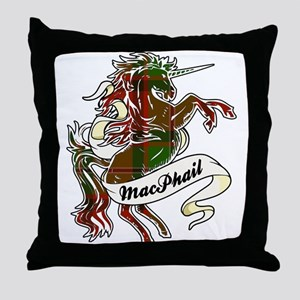 MacPhail Unicorn Throw Pillow