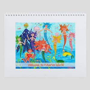 Hikaru's World - Little Mermaids Wall Calendar