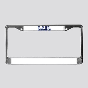 LAIL University License Plate Frame