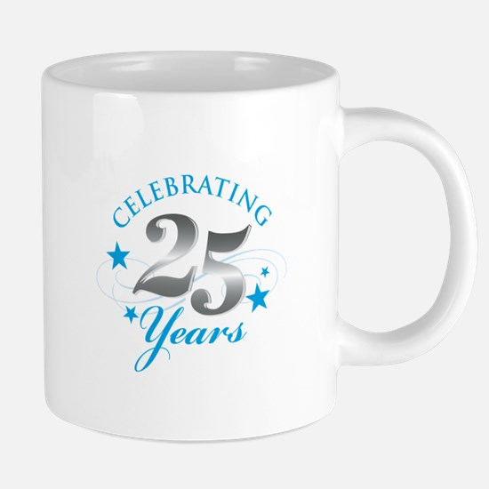 Celebrating 25 years Mugs