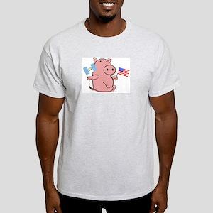 USA AND GUATEMALA Light T-Shirt