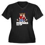 Foxtails, Inc. Kit & Kat Plus Size T-Shirt