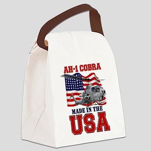 AH-1 Cobra Canvas Lunch Bag