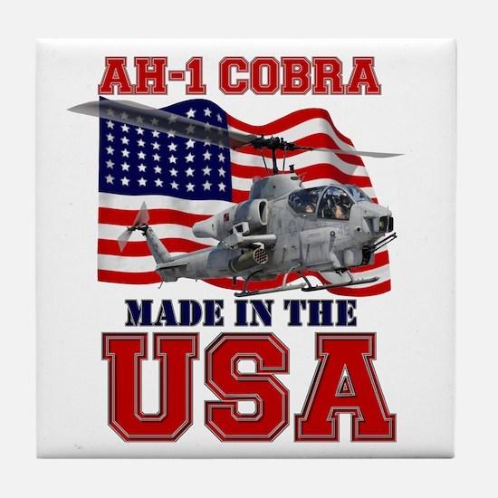 AH-1 Cobra Tile Coaster