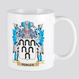 Fergus Coat of Arms - Family Crest Mugs
