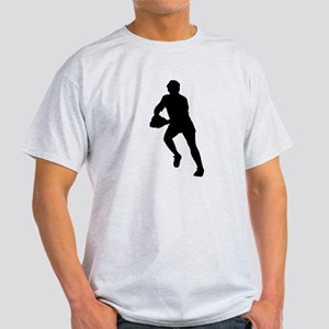 Rugby Player Silhouette T-Shirt