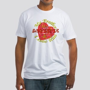 Autistic Brother Fitted T-Shirt