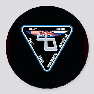 Expedition 46 Round Car Magnet