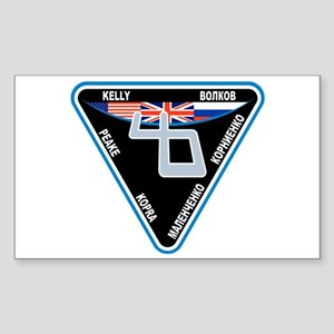 Expedition 46 Sticker (Rectangle)