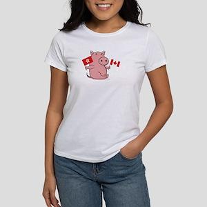 CANADA AND HONG KONG Women's T-Shirt