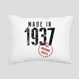 Made In 1937 All Original Parts Rectangular Canvas