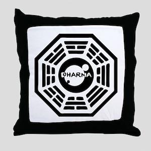 Dharma Hatch Throw Pillow