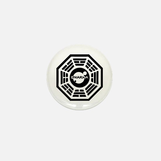 Dharma Hatch Mini Button