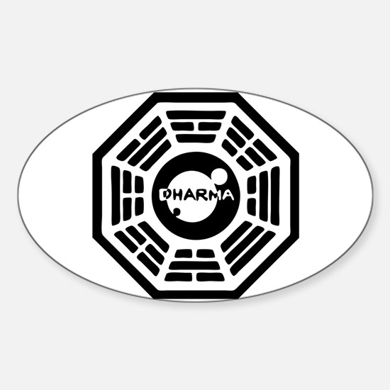 Dharma Hatch Oval Decal