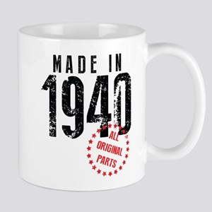 Made In 1940, All Original Parts Mugs