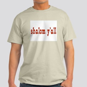 Greetings shalom y'all Light T-Shirt
