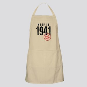 Made In 1941, All Original Parts Apron