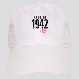 Made In 1942, All Original Parts Baseball Cap