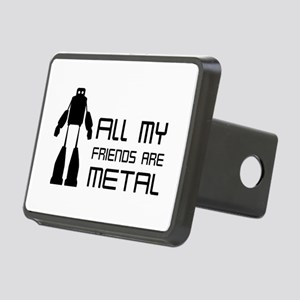 All My Friends Are Metal Hitch Cover