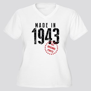 Made In 1943, All Original Parts Plus Size T-Shirt