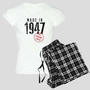 Made In 1947, All Original Parts Pajamas