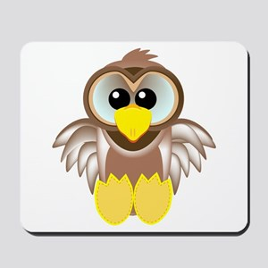 Cute Little Goofkins Owl Mousepad