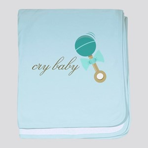 Cry Baby baby blanket