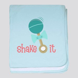 Shake It baby blanket