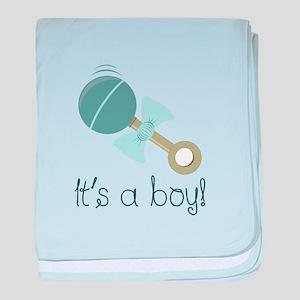 Its A Boy! baby blanket