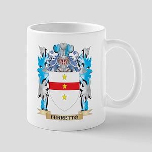 Ferretto Coat of Arms - Family Crest Mugs