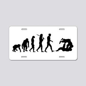 Evolution of Judo Aluminum License Plate