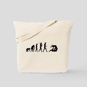 Evolution of Judo Tote Bag