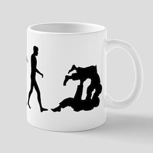Evolution of Judo Mug