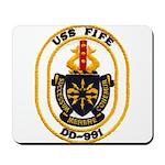 USS FIFE Mousepad