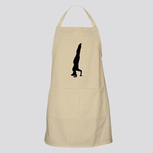 Headstand Silhouette Apron