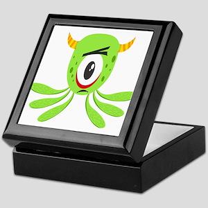 Cute Baby Alien Keepsake Box