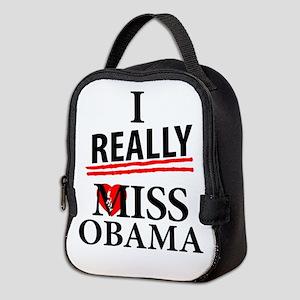 I Really Miss Obama Neoprene Lunch Bag