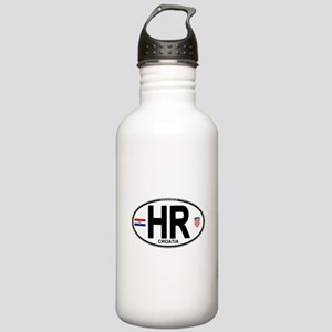 hr-oval Stainless Water Bottle 1.0L