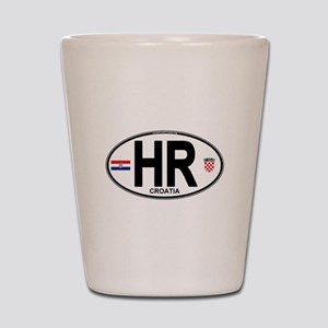 hr-oval Shot Glass