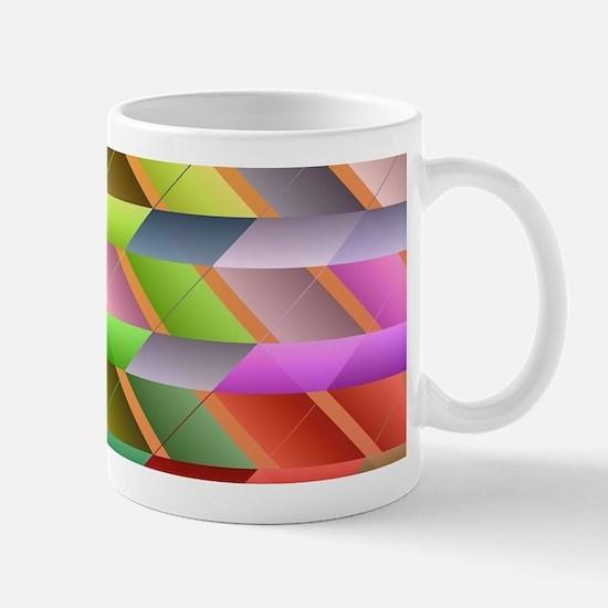 Articulated triangles Mugs