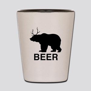 Beer Bear Shot Glass
