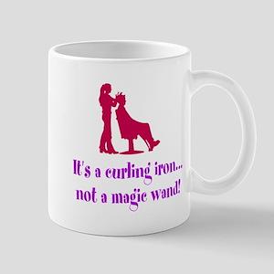Funny Beautician Curling Iron Mugs